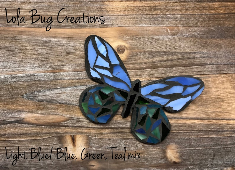 Butterfly Glass Mosaic image 0