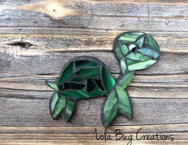 Turtle glass Mosaic image 0