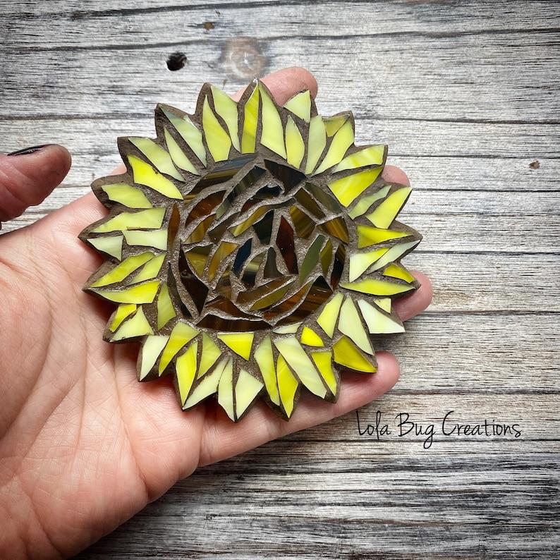 Sunflower glass Mosaic image 0