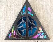 Deathly Hallows glass Mosaic