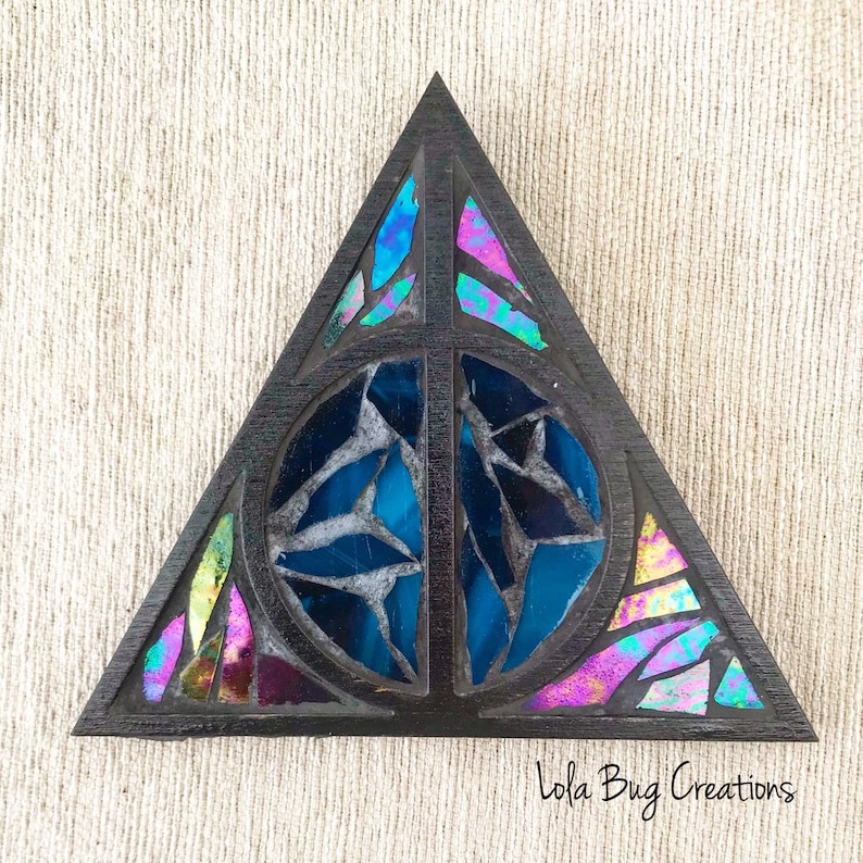 Deathly Hallows Harry Potter Mosaic image 0