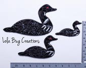 Loon Magnet and/ or Hanging glass mosaic