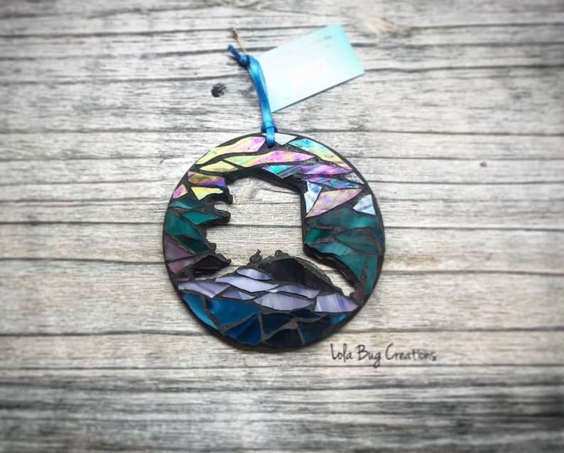 State of Alaska glass Mosaic image 0