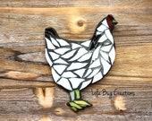 Chicken glass Mosaic