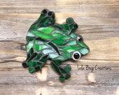 Frog Glass Mosaic