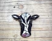 Cow Head glass mosaic Mosaic