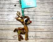 Baby Rudolf Reindeer Mosaic