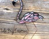 Flamingo glass Mosaic