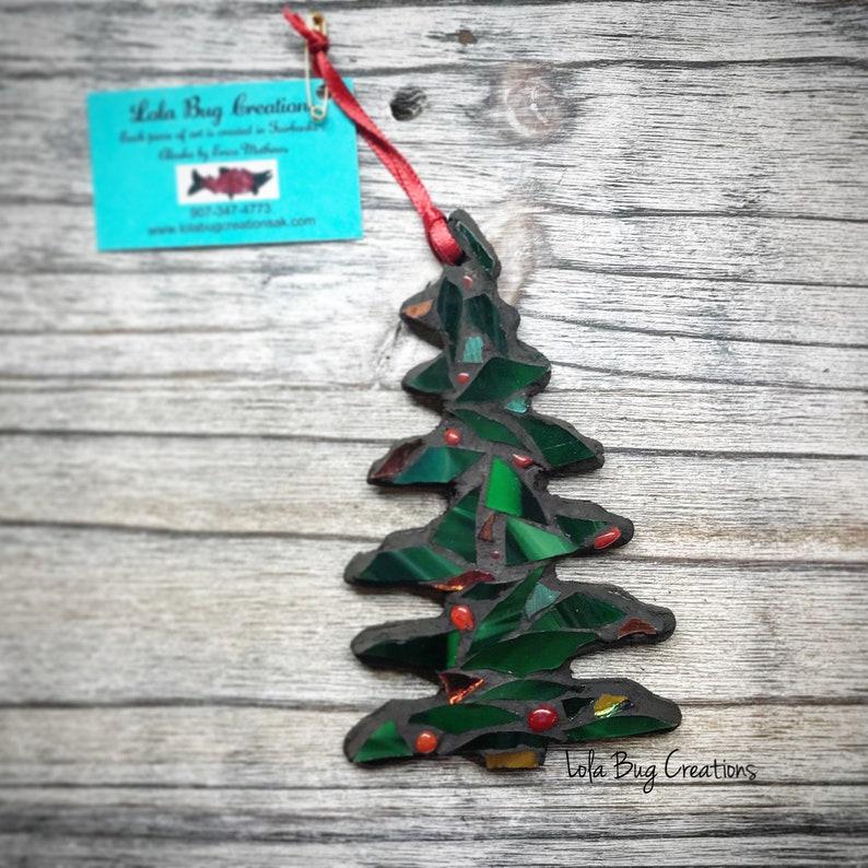 Christmas Tree Glass Mosaic image 0