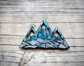 Mountain Glass Mosaic