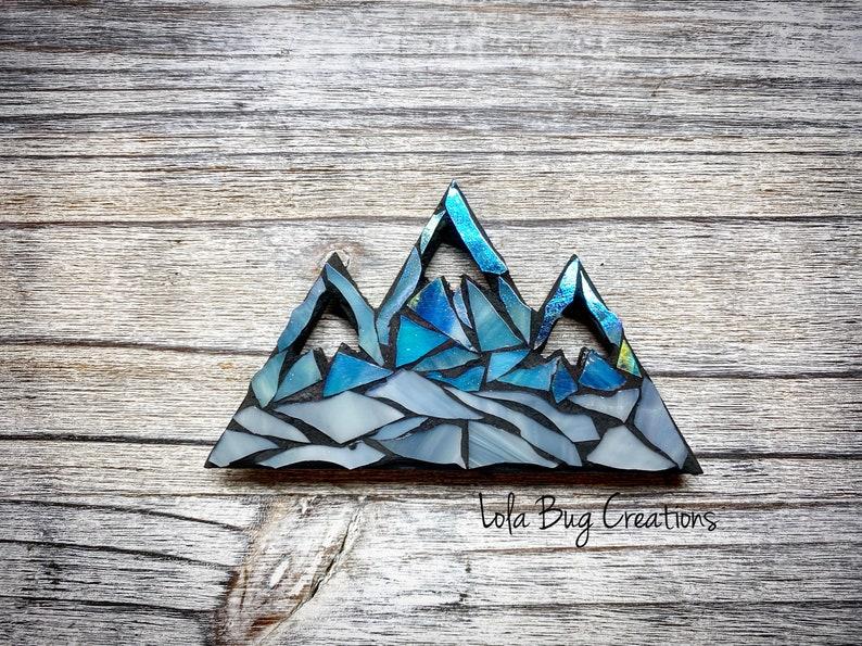 Mountain Glass Mosaic image 0