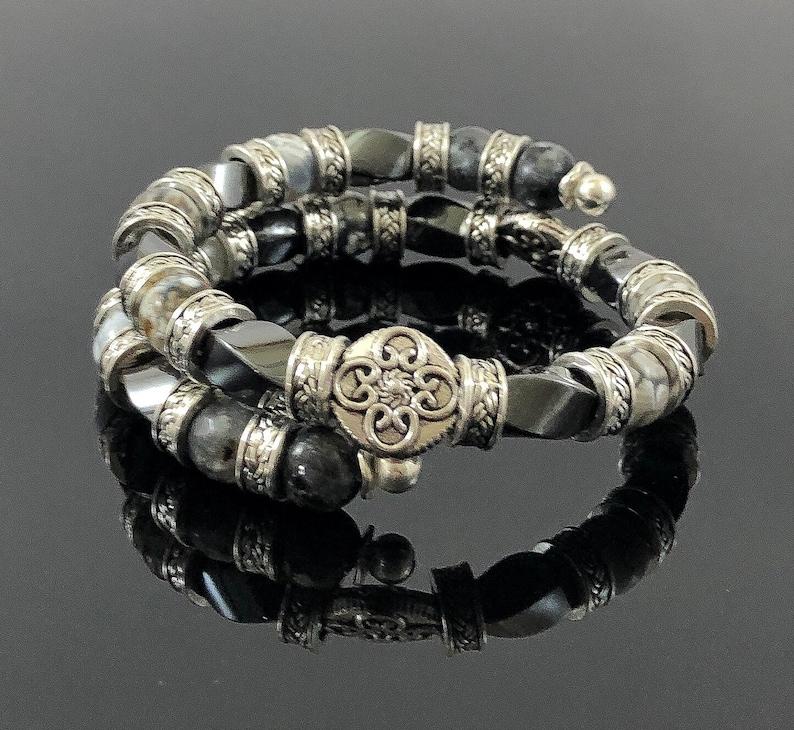 Men/'s Bracelet Bangles for Women Gifts for Him Unisex Bangle Bracelet