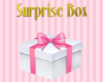 Surprise Box - Mystery Box - Grab Bag - Jewely Accessorues Pinup Rockabilly Vintage and Disney Inspired