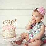 One Cake Topper, Smash Cake Topper, First Birthday Cake Topper, 1st Birthday Cake Topper, 1 Cake Topper, Wild One