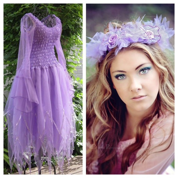 Adult And Plus Size Fairy Party Dress Fairy Costume Etsy