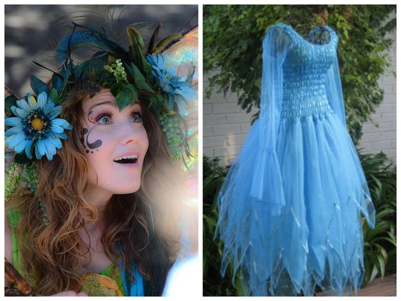 c02cef8e5725 Adult and Plus Size Fairy Halloween Dress Fairy Costume | Etsy