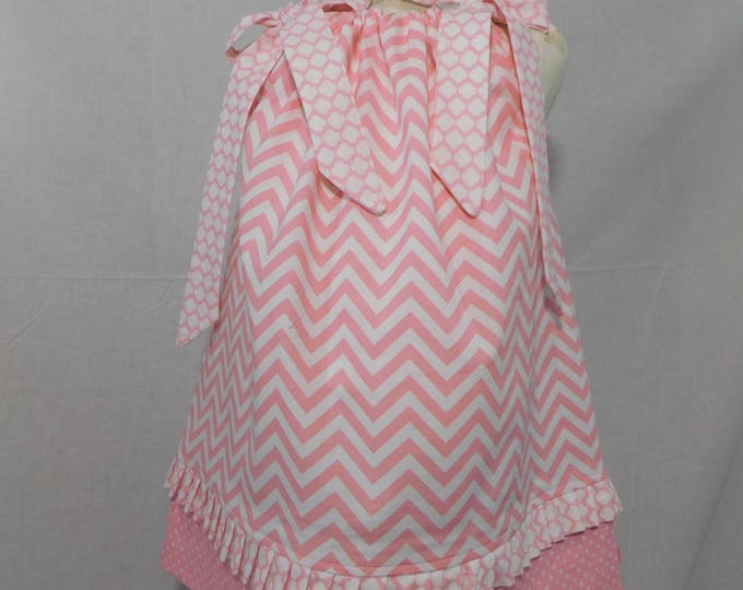 BOUTIQUE PILLOWCASE DRESS / Dainty Pinks