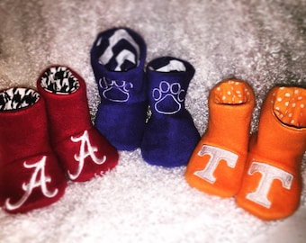 COLLEGE / UNIVERSITY Baby Boots - You choose the team!
