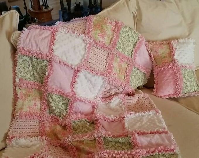 Crib Blanket / Toddler Blanket