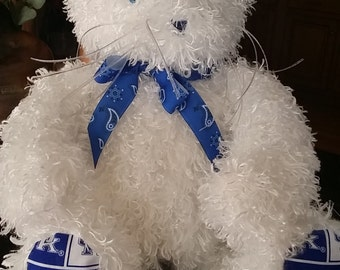 "20"" or 30"" UNIVERSITY OF KENTUCKY Super Plush Teddy Bear"