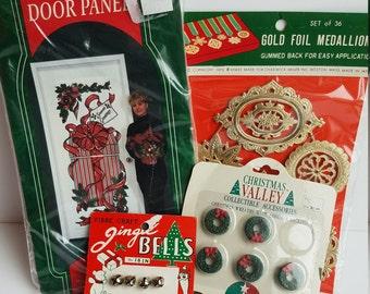Vintage Christmas Craft Package