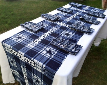 Dallas Cowboy Napkin Etsy - Dallas cowboys picnic table