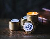 2oz Sample Set of Gold Soy Candles - Pick 4