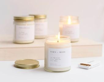 Pick 3 Minimalist Soy Candles
