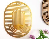 Hamsa Wall Art, Hamsa Decor, Brass - Medium Size -  New Home Gift, Hamsa Wall Hanging, Brass Wall Art, Spiritual Gift,Hand of Fatima Decor