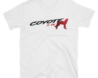 fa1685f17d84 Kojote 5,0 L Mustang rotes T-Shirt