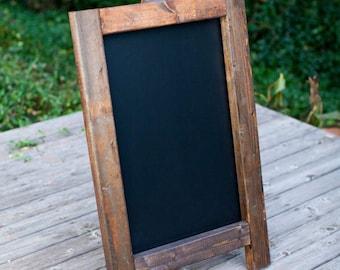 Chalkboard Easel + Chalkboard Sign + Wedding Sign + Wedding Chalkboard + Wedding Easel + Wooden Easel + Rustic Easel