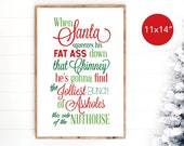 Clark Griswold Christmas Vacation, National Lampoon 39 s Christmas, Holiday Decoration Printable Wall Art Sign Digital Download, 11x14
