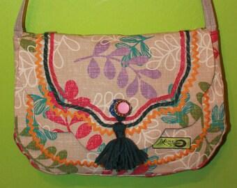 purse, flower purse, hand made purse, one of kind purse