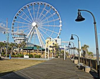 Farris Wheel in Myrtle Beach