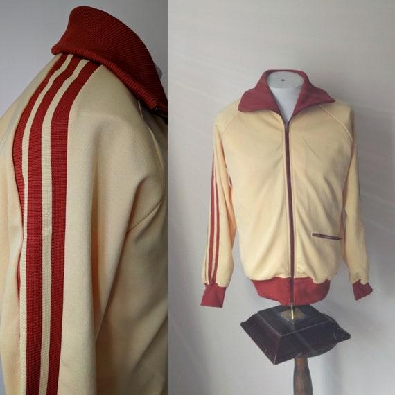 70's track jacket / Jaclar zip front track jacket