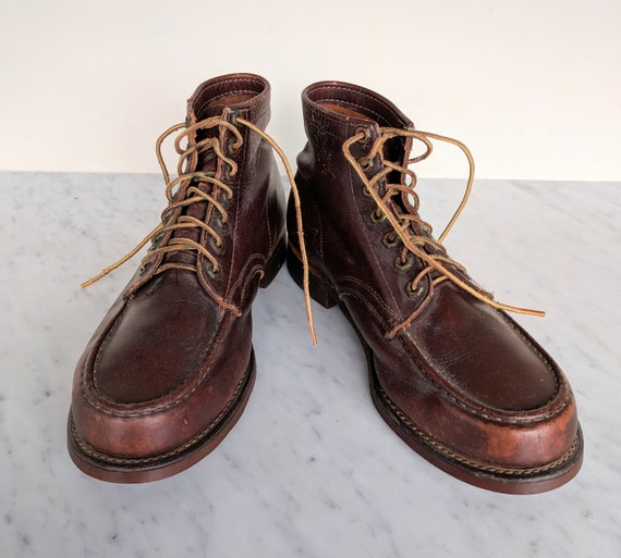 60s Herman work boots / Herman surviver /ankle rop