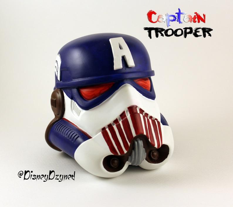 Marvel s Captain America Vinyl Stormtrooper Helmet  18425d8a4005