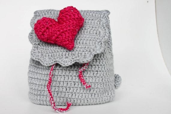 Crochet Backpack For Kids Baby Toddler Backpack Etsy