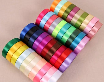 10M,Hair bows GROSGRAIN Ribbon 6mm 10mm 15mm 25mm 38mm 75mm Widths Full Rolls