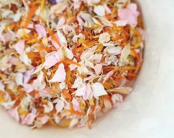 Summer Salsa dried flower petal mix