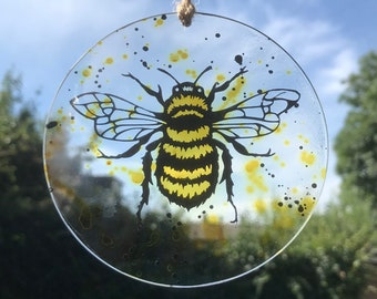 Bee Tree Decoration Christmas Bauble Ornament for Bee Keepers