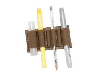 Detachable Elastic Pen-Marker Loops (Large)/Compatible with our Tactical Notebook Covers