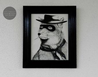 Tibetan Fox Bandit - Original