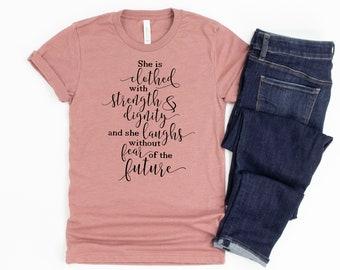 Proverbs 31 Shirt, womens christian shirts, Christian Women's Tshirt, Bible Verse Gifts for Women, Bible Tshirt, christian tee shirts