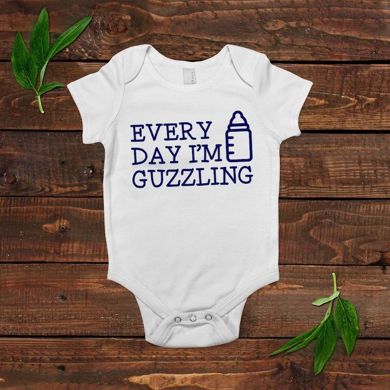 Funny Baby Shirt  Newborn Baby Boy Gift image 0