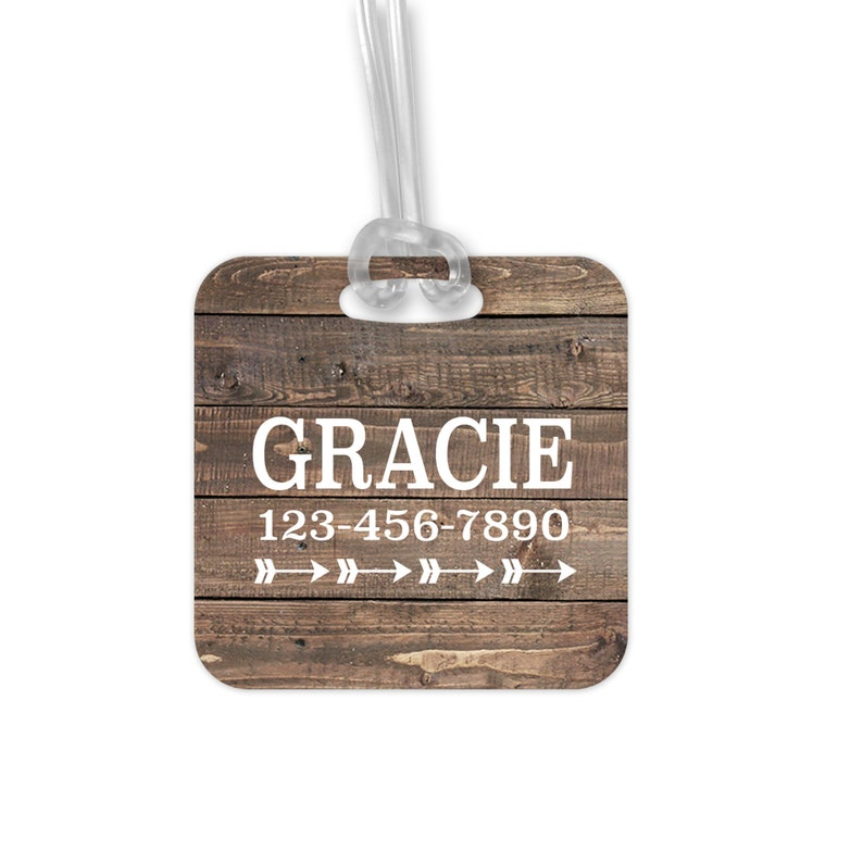 Personalized Luggage Tag image 0