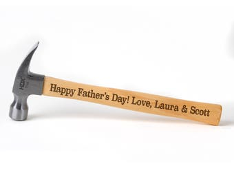 Personalized Hammer - Happy Father's Day