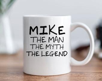 Personalized Mug - Personalized Coffee Mug for Men - Personalized Gift for Him, gift for men, custom mugs