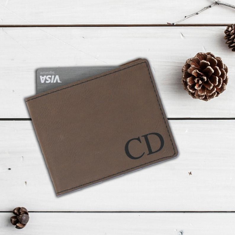 520cdf9c83de Mens Leather Wallet Custom Leather Wallet Gift