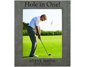 Personalized Golf Picture Frame - personalized golf gifts for men - Custom Photo Frame